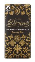Divine Fairtrade Dark (70%) Chocolate 90g